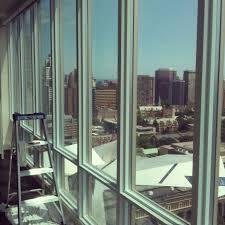 Stained Glass Window Decals 3m Prestige 70 Window Film Applied To Condominium Windows The