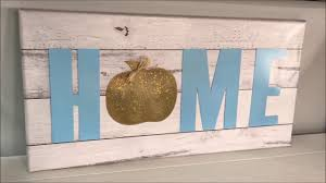 Rustic Glam Home Decor Glam Fall Home Decor Rustic Glam Home Canvas Youtube