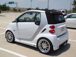 lowered cars smart car on 17