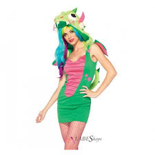 Woman Monster Halloween Costume by Dragon Fuzzy Monster Anime Costume For Women