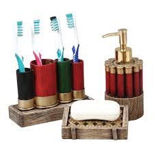 Duck Bathroom Decor Camo Bath Accessories Shotgun Shell Bath Accessories Camo Trading