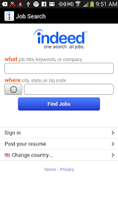 Indeed Job Resume by Five Free Android Job Search Apps Techrepublic