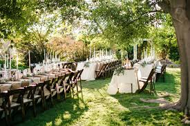 romantic relaxed backyard wedding heidi joshua green wedding