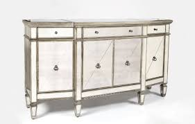 luxurious details for mirrored buffet table home decorations