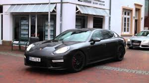 porsche germany porsche panamera gts mkii in lingen ems germany youtube