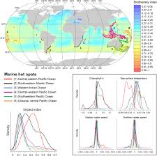 Bilinear Map Climate Impacts On Global Spots Of Marine Biodiversity
