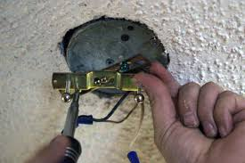 Replacing A Ceiling Light Fixture How To Install A Hanging Ceiling Light Fixture Theteenline Org
