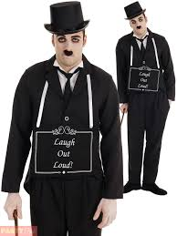 mens silent film star costume for 20s hollywood cosplay fancy