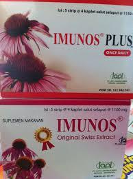 Obat Imunos beda imunos dan imunos plus merah