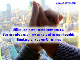 miles can never come between us you are always on my mind and in