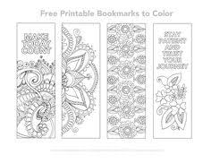 color bookmarks free printable bookmarks coloring