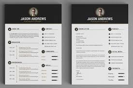 Classy Resume Templates The Elegant Resume Cv Set Template By Snipescientist On Creative