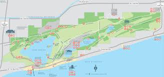 Map Alabama Park Map Alabama Gulf State Park