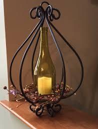 home decor lanterns wine bottle led light centerpiece table decor home decor