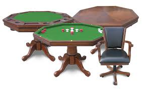 kingston 3 in 1 poker table with 4 chairs
