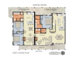 3 bedroom floor plan unit floor plans branson s nantucket