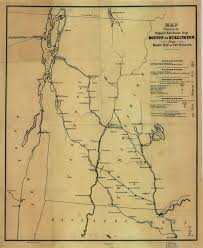 Boston Rail Map by Railroad Maps
