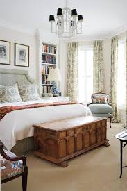 Bedroom Tall Windows Window Coverings And Bedrooms - English bedroom design