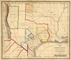 Map Of The State Of Texas First Street Confidential News Summary From Around The World