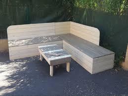 canapé en palette de bois canapé canapé cinna en palette bois avec canape de et 2