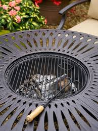 Firepit Set by Hartman Florence Fire Pit Set Metal Garden Furniture Hayes