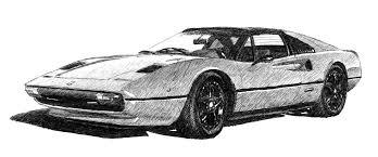 cars ferrari white electric gt performance electric classic cars