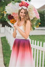 ombre wedding gown elizabeth burgi journal