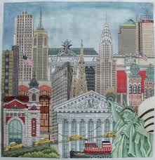 new york handpainted needlepoint canvases