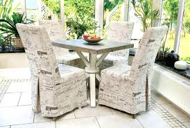 Target Dining Room Dining Room Chair Slipcovers Linen Diy From A Tablecloth Target