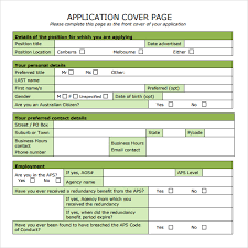 cover page template free download sample cover page template 14 free documents in pdf
