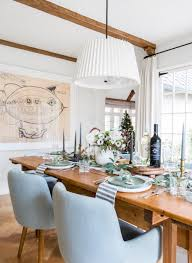 How To Set A Table Taste Of Home by A Homespun Holiday Gathering With Chateau Hendo Emily Henderson