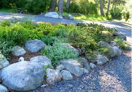 building a rock garden bed best idea garden