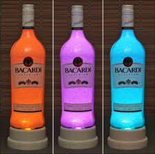 Led Light Bar Color Changing by Bacardi Rum Color Changing Bottle Lamp Bar Light Led Remote