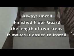 stair tread 100 day protection during construction or remodeling