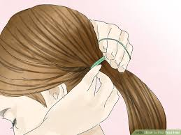 hair that flips in the back 4 ways to flip your hair wikihow