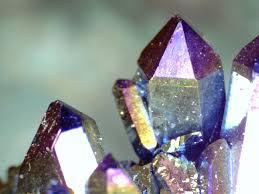 crystals titanium crystals