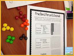 percents decimals fractions and a freebie teaching with a