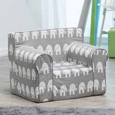 Grey Slipcover Chair Here And There Kids Chair Gray Elephant Hayneedle