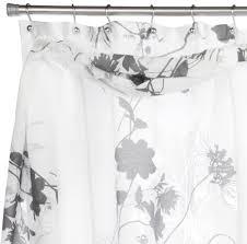 Black Scarf Valance Buy Popular Bath Lorraine Shower Curtain With Detachable Scarf