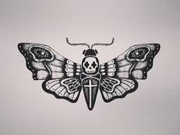 deaths moth clipart rat pencil and in color deaths