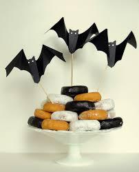 Martha Stewart Halloween Bats by A Pretty Cool Life Diy Halloween Bat Dessert Toppers