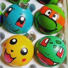my painted glass ornaments marvel