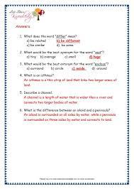 comprehensions for grade 3 ages 7 9 worksheets passage 23