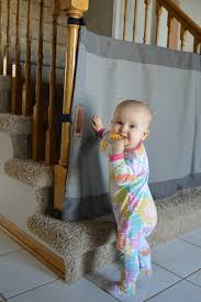 a stylish new way for baby proofing stairs savvy sassy moms