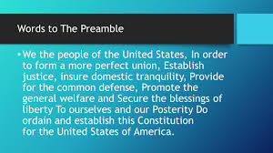 to the constitution of the united states ppt video online download