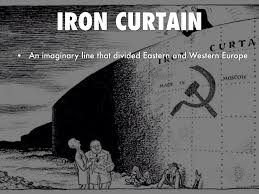 Iron Curtain Political Cartoon The Cold War And Beyond 1945 Present By Antonio