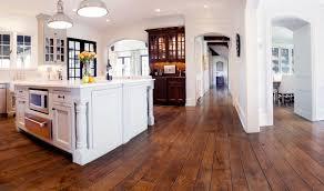 Hardwood Floors With White Cabinets Kitchen With White Cabinets And Hardwood Floors Also Recessed