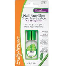 amazon com sally hansen nail nutrition nail strengthener 3197