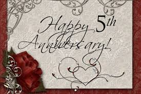 5th year wedding anniversary best 5th wooden wedding wishes quotes