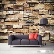whole wallpaper 3d large mural decor photo backdrop photographic hd outdoor brick wall restaurant modern wall painting for living room wallpaper wide